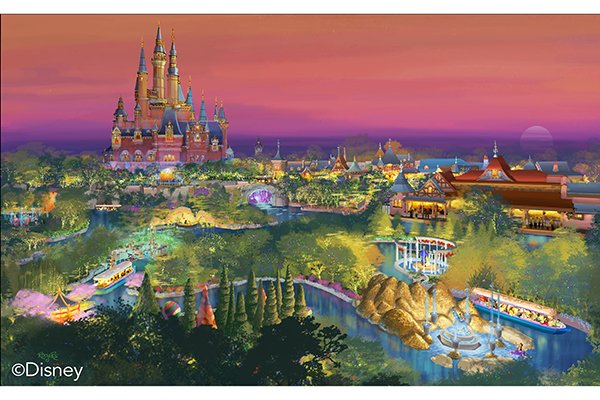 上海迪士尼乐园一日游