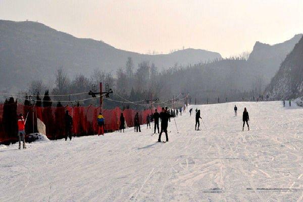 【散】家门口的滑雪场——宜兴梅园滑雪场、赏宜园风光一日游