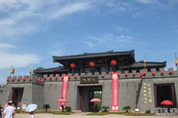 三国旅游文化节,门票全含,含太湖游船