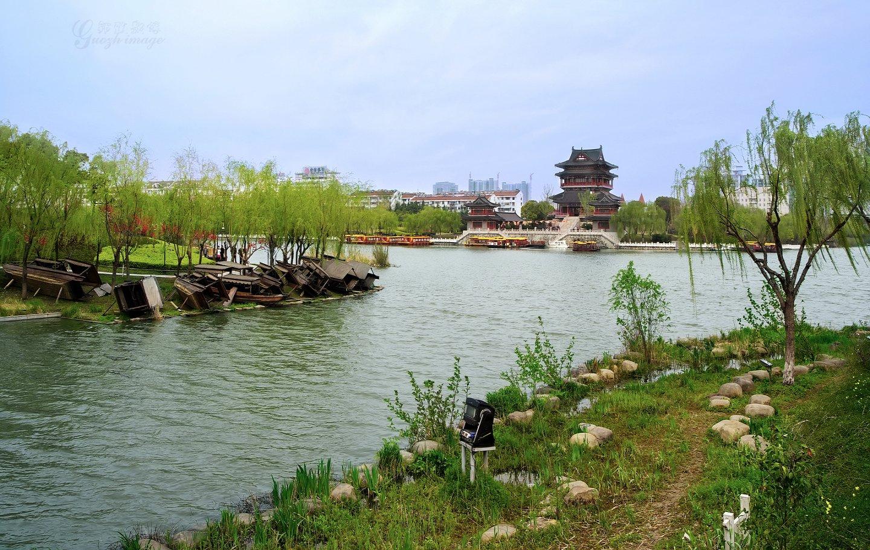 """泰州""""土豪""""礼,凤城河风景区,梅园,乔园,望海楼,一日游"""