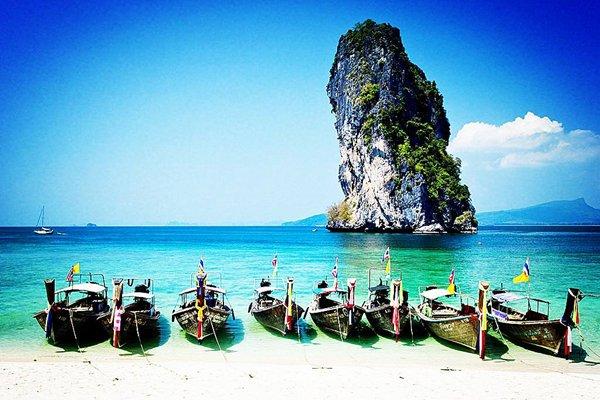 【情定普吉】普吉岛6天5晚跟团游直飞·攀牙湾喀斯特群岛+VIP私人帆船游艇出海+月亮岛
