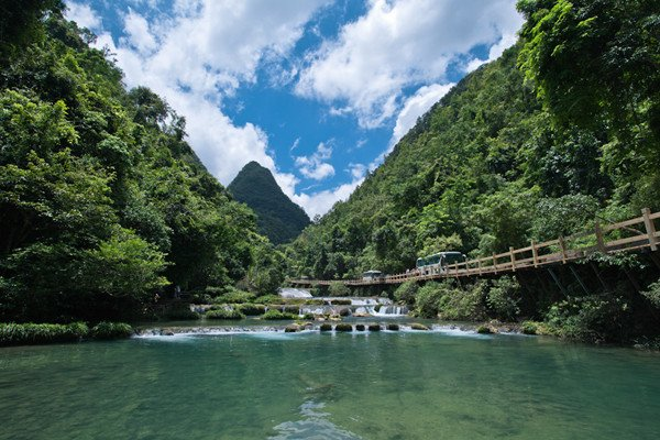 【贵州民族风】贵州5日跟团游双高·黄果树景区 荔波小七孔 大七孔
