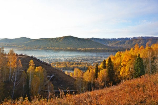 【尊享·冬游阿勒泰】新疆、喀纳斯、禾木冰雪之旅双飞双卧5晚6日游