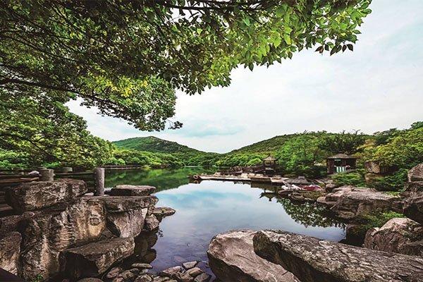 【湖光山色】苏州甪直古镇+白马涧生态园一日游特惠99买一送一