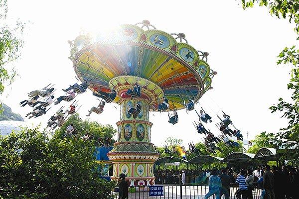 【狂欢畅玩】苏州乐园欢乐世界+蘑菇街一日游