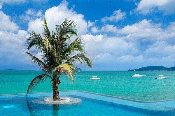 一天自由活动,随意安排,尽情Happy!两晚考拉国际五星私人沙滩酒店&三晚联排泳池别墅!