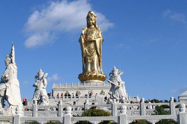 ———入住普陀山,走遍三大寺