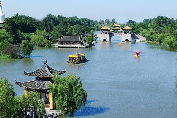 扬州瘦西湖,茱萸湾公园,东关历史古街深度一日游