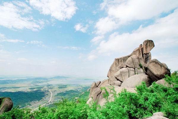 【心爱之旅】安徽雨耕山文化园 永泉农庄 巨石山玻璃平台 玻璃栈道二