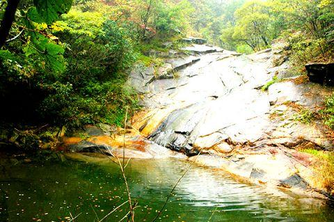8平方公里,可乘坐电瓶车自由游览桃花山,桃源山,于五柳湖漫步,在湖光